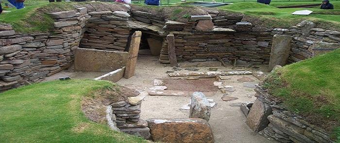 ïle de Mainland: le site archéologique de Skara Brae
