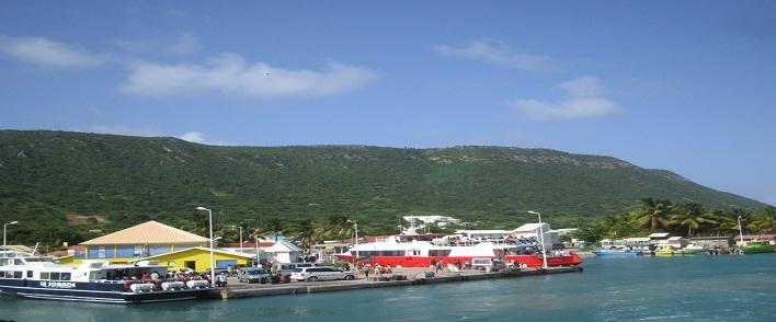 Beauséjour, ville des îles dans les Caraibes Françaises