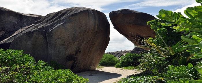 paysage à observer lors d'un séjour aux Seychelles